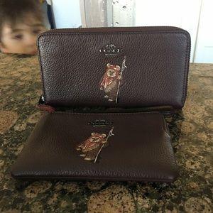 Authentic Coach X Star Wars wallet/wristlet set